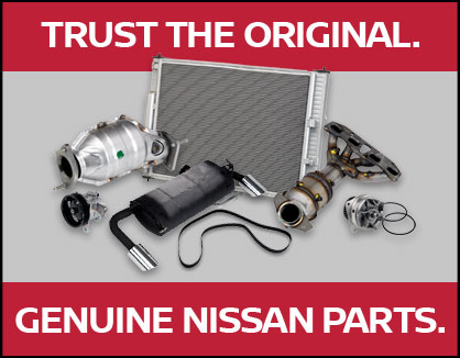 Trust The Original Nissan Banner